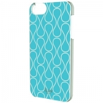 ILUV ICA7H307BLU IPHONE 5 FESTIVAL CHIC HARDSHELL CASE