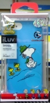 Mouse over image to zoom Have one to sell? Sell it yourself Details about  iLuv ICA7H385BBLUBUA Green Scout Snoopy with Woodstock Case for iPhone 5/5S