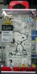 iLuv ICA7H386SNUBUA Peanuts Graphic Case for iPhone 5 (Cartoon Snoopy),White