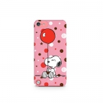 iLuv iCA6H381PNK Snoopy Character Series Hard-Shell Case for iPod touch