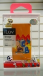 iLuv ICA6H384ORG Snoopy Hardshell Case for iPod nano