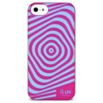iLuv Aurora Illusion Glow in the Dark Case iPhon Ailauripne 5c ( Pink )