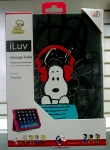 iLuv AP5SNOFGR snoopy folio portfolio case and stand for iPad Air