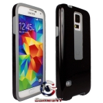 iLuv SS5FLIFBK  FlightFit Dual Layer Case - Samsung Galaxy S5 Black