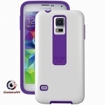 SS5FLIFWH ILUV Samsung Galaxy S5/V FlightFit Dual-Layer Case (White)