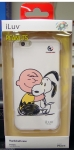 "iLUV SNOOPY iPHONE 6 (4.7"") HARDSHELL CASE WHITE AI6SNOOWH"