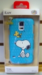 iLuv SS5SNOOSBLUv2.0 Snoopy Series Hardshell Case for Galaxy S5 (Blue)