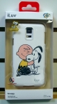 iLuv SS5SNOOWHv2.0 Snoopy Series Hardshell Case for Galaxy S5 (White)