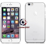 "ILUV AI6PGOSS iPhone 6 Plus 5.5"" Gossamer Case (Clear), Thin and Perfect fit"