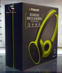 Polaroid Bluetooth Wireless Headphones  New Model High Definition Sound (Lime)