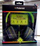 Polaroid PHP140 Foldable stereo headphones with inline mic PHP140LM