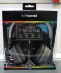 Polaroid PHP140 Foldable stereo headphones with inline mic PHP140WH
