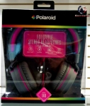 Polaroid PHP140 Foldable stereo headphones with inline mic PHP140PK