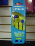 Polaroid PHP783BL Noise Isolating Earbuds