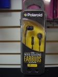 Polaroid PHP783BK Noise Isolating Earbuds