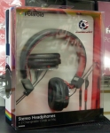 Polaroid stereo headphones with changeable cords PHP8330 Red with Mic (on-ear)
