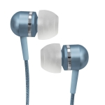 716829207932, Blue high-performance isolation stereo earphones