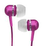 716829207994, Pink high-performance isolation stereo earphones