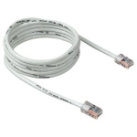 722868146675, 10ft cat5e white patch cordrohs