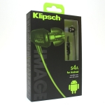 Klipsch Image S4A In-ear Headphones for Android with Inline Microphone