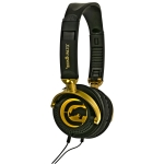 758302638406, Gold motion over-ear headphone