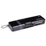 iGo 39-in-1 USB 2.0 Portable Multi-Card Reader w/Keychain