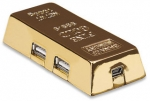 Gold Bar Hi-Speed USB Hub Manhattan 161541