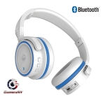 MQbix Bluetooth Wireless Stereo Headphones Mic + Music Controls MQBT950