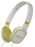 885170026315, Slimz over-ear headphone - white and green