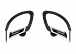 885170045446, In-ear sports clip earphone - black
