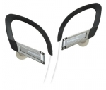 885170045453, In-ear sports clip earphone - silver