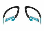 885170045460, In-ear sports clip earphone - blue