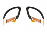885170045484, In-ear sports clip earphone - orange