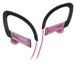 885170045507, In-ear sports clip earphone - pink