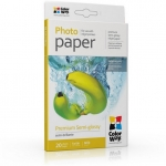 "Photo paper ColorWay premium semi-glossy 68 lb, 4""х6"", 20 sht (PNG2550204R)"