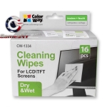 ColorWay Wet/Dry Wipes Set for Screen and Monitor Cleaning (CW-1334)
