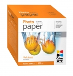 "Photo paper ColorWay high glossy 62 lb, 4""х6"", 500 sht"