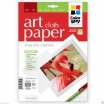 "Photo paper ColorWay ART glossy texture ""cloth"" 62 lb, 8.5""х11"", 10 sht (PGA230010CLT)"