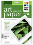 "Photo paper ColorWay ART glossy texture ""snake skin"" 62 lb, 8.5""х11"", 10 sht (PGA230010PLT)"