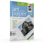 "Photo paper ColorWay ART glossy texture ""stripes"" 62 lb, 8.5""х11"", 10 sht (PGA230010SLT)"