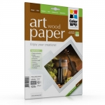 "Photo paper ColorWay ART glossy texture ""wood"" 62 lb, 8.5""х11"", 10 sht (PGA230010WLT)"