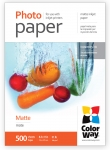 "Photo paper ColorWay matte 29 lb, 8.5""х11"", 500 sht PM108500LT"