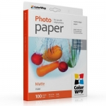 "Photo paper ColorWay matte 35 lb, 8.5""х11"", 100 sht (PM135100LT)"