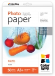 "Photo paper ColorWay matte 51 lb, 13""x19"", 50 sheets (PM190050A3+)"