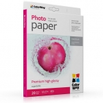 "Photo paper ColorWay premium high glossy 68 lb, 8.5""х11"", 20 sht (PSG255020LT)"
