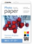 "Photo paper ColorWay premium silk glossy 69 lb, 4""х6"", 50 sht (PSI2600504R)"